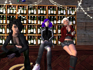 Members of the Jester Inn Secondlife