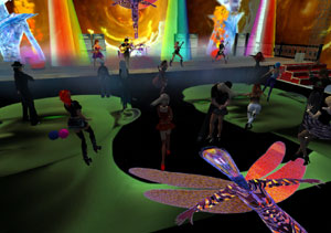 Strangefates Perform at Rydem's in Secondlife